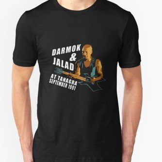 Darmok & Jalad at Tanagra (Black)  ST TnG