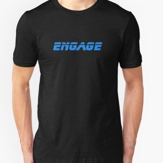 Star Trek – Engage – Captain Picard T-Shirt