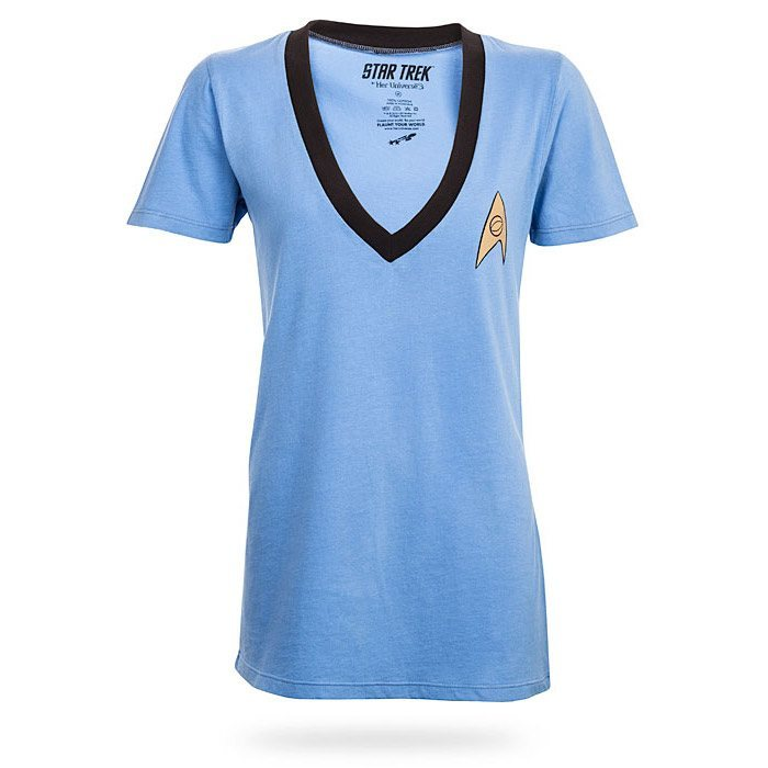 Star Trek Logo V-Neck Ladies' Tee