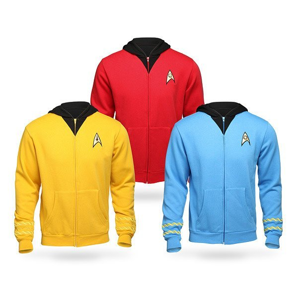 Star Trek Original Series Uniform Hoodie