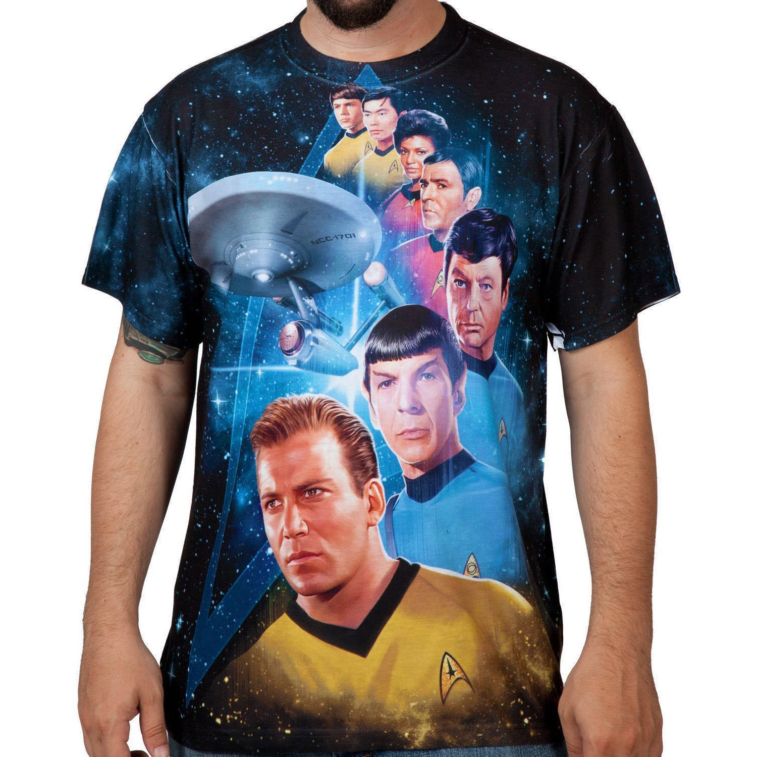 Star Trek TOS Sublimation Shirt