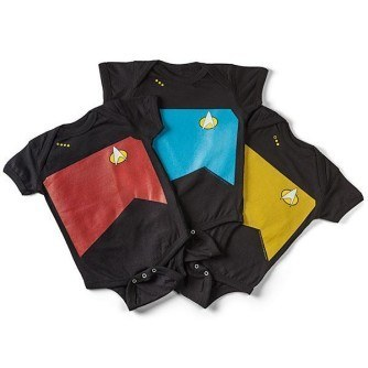 Star Trek TNG Uniform Bodysuits