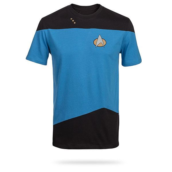 Star Trek TNG Uniform Tee – Blue