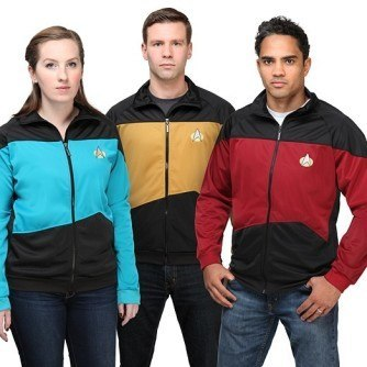 Star Trek TNG Unisex Track Jacket