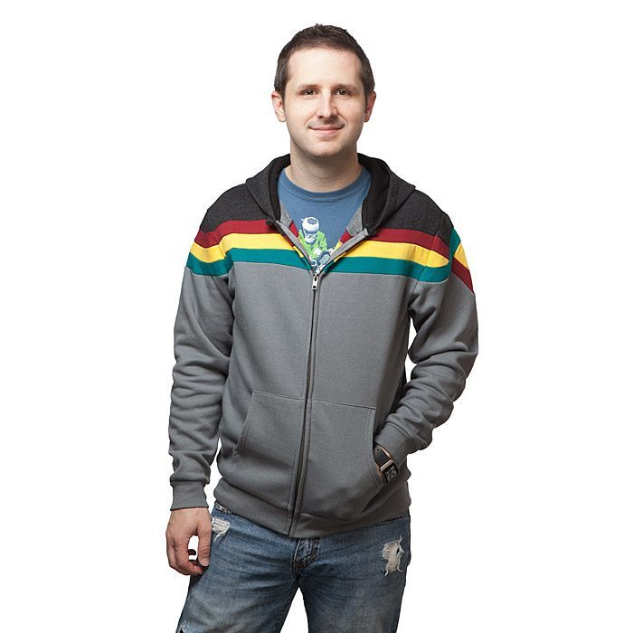 Star Trek TNG Wesley Crusher Uniform Hoodie
