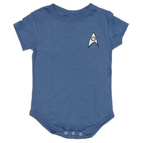 Star Trek TOS Uniform Onesie – Blue