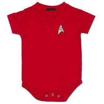 Star Trek TOS Uniform Onesie – Red