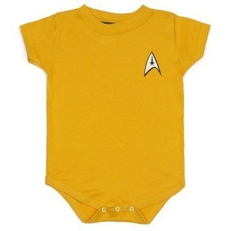 Star Trek TOS Uniform Onesie – Gold