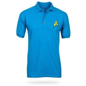 Star Trek Uniform Polo – Blue