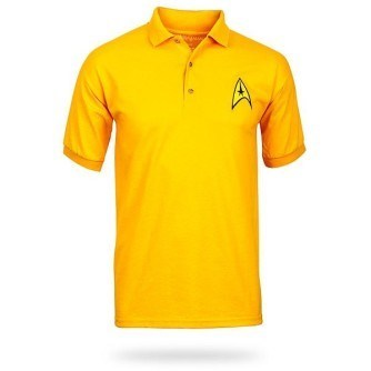 Star Trek Uniform Polo – Gold
