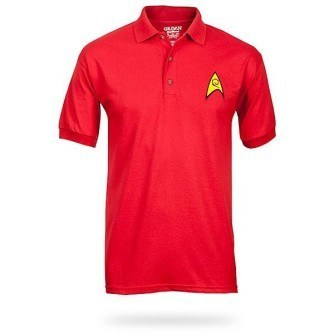 Star Trek Uniform Polo – Red
