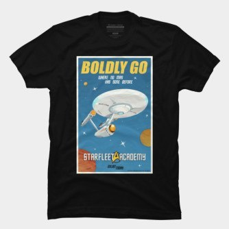 Star Trek – Boldly Go T-Shirt