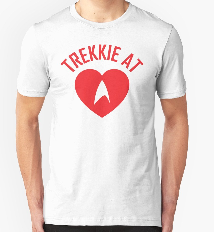 Trekkie At Heart Tshirt