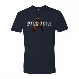 Star Trek New Series Logo T-Shirt [Midnight Navy]