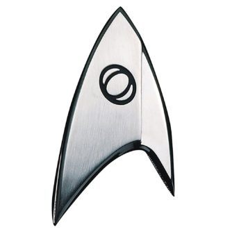 QMx Star Trek Discovery Insignia Badge: Science
