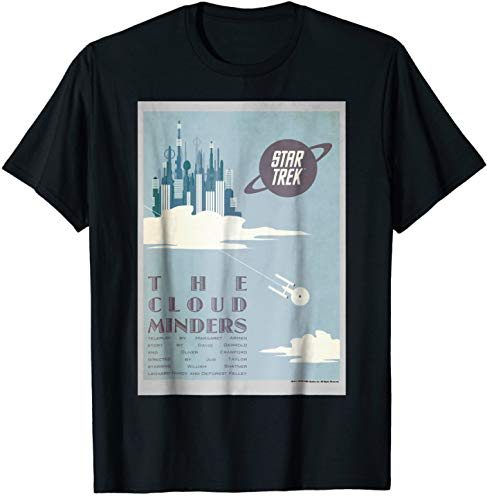 Star Trek Original Series Cloud Minders Graphic T-Shirt