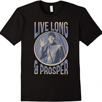 Star Trek Original Series Spock Prosper Graphic T-Shirt