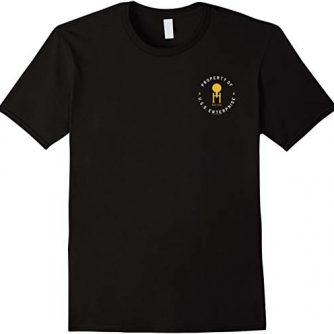 Star Trek Original Series U.S.S. Enterprise Pocket T-Shirt
