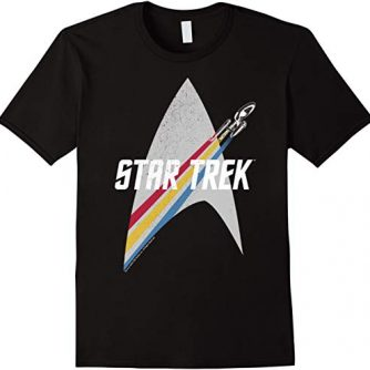 Star Trek Original Series Rainbow Delta Graphic T-Shirt