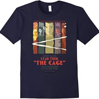 Star Trek Original Series The Cage Retro Art Graphic T-Shirt