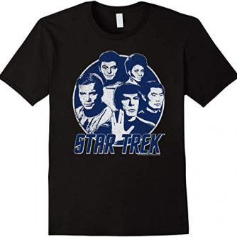 Star Trek Original Series Classic Crew Retro Graphic T-Shirt