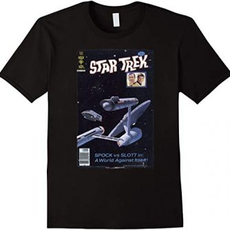 Star Trek Original Series Enterprise Vintage Comic T-Shirt