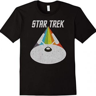 Star Trek USS Enterprise Warp Drive T-Shirt