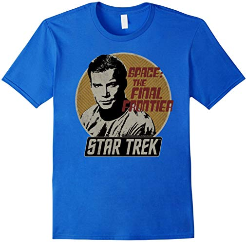 Star Trek Original Series Kirk Retro Badge Graphic T-Shirt