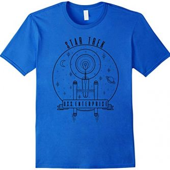 Star Trek Original Series Enterprise Geo Lines T-Shirt