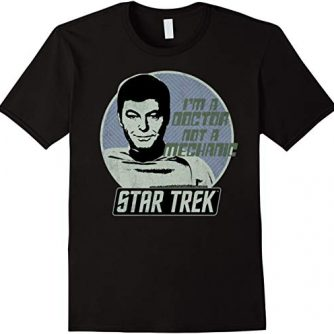 Star Trek Original Series McCoy I'm A Doctor Retro T-Shirt