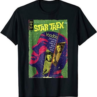 Star Trek Original Series Voodoo Vintage Comic T-Shirt
