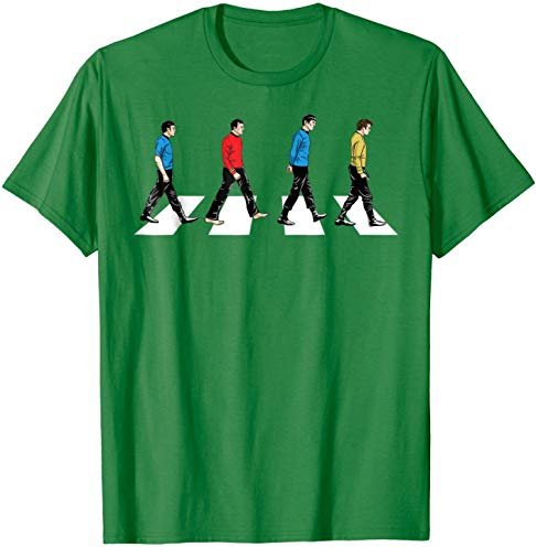 Star Trek Tribute To The Beatles Abbey Road T-Shirt