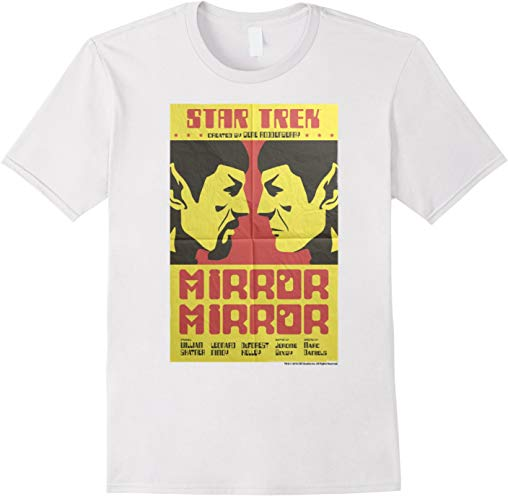 Star Trek Original Series Mirror Mirror Retro Poster T-Shirt