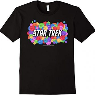 Star Trek Original Series Rainbow Tribbles Graphic T-Shirt