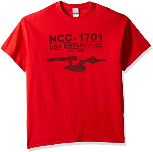 Star Trek Men's Ncc-1707 USS Enterprise T-Shirt