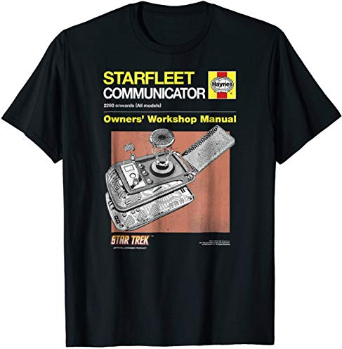 Star Trek Original Series Haynes Manual Graphic T-Shirt