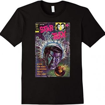 Star Trek Original Series Spock's Mind Vintage Comic T-Shirt
