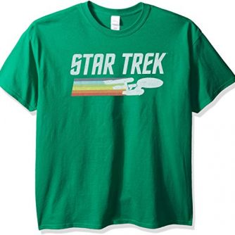 Star Trek Men's Vintage Logo T-Shirt