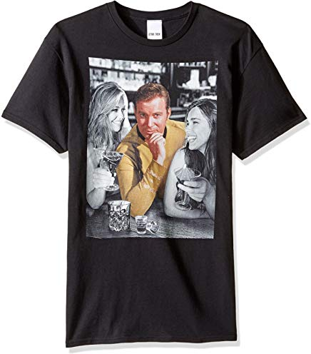 Star Trek Men's Captain Kirk Ladies Man T-Shirt