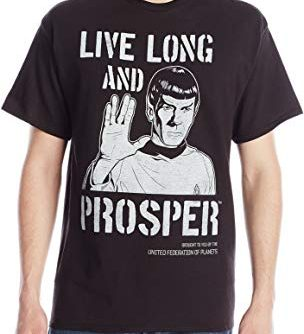 Star Trek Men's Vintage T-Shirt