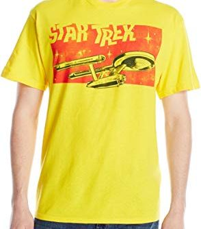 Star Trek Men's Ship T-Shirt