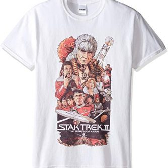 Star Trek Men's 50th Anniversary The Wrath Of Khan T-Shirt