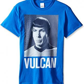 Star Trek Men's Spock Vulcan T-Shirt