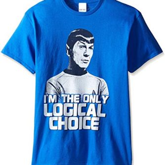 Star Trek Men's Spock I'm The Logical Choice T-Shirt