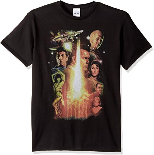 Star Trek Men's 50th Anniversary Inception: The Cage T-Shirt