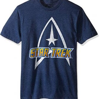Star Trek Men's Logo Classic Short Sleeve T-Shirt