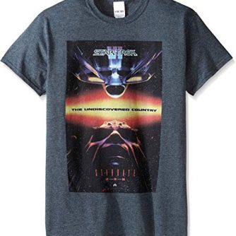 Star Trek Men's VI The Undiscovered Country T-Shirt
