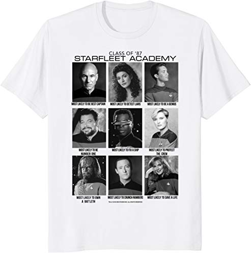 Star Trek Next Generation Most Likely To Graphic T-Shirt