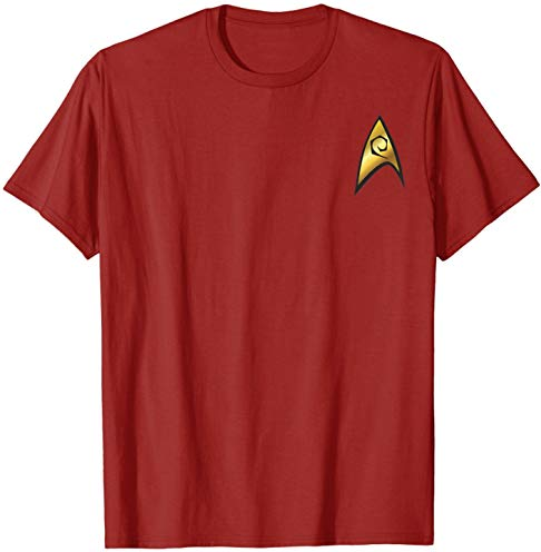 Star Trek Original Series Engineering Badge Graphic T-Shirt