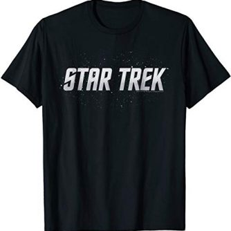 Star Trek Original Series Logo Constellation Graphic T-Shirt